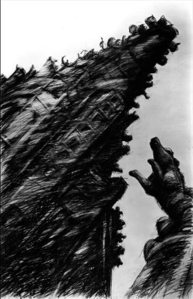 Caspar Baum_Γοτθικά Οράματα_Ταμπλώ 1_1991